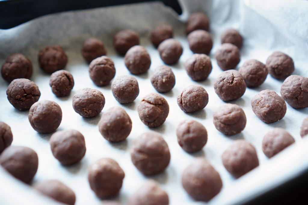 Шоколадные шарики с молоком рецепт с фото пошагово