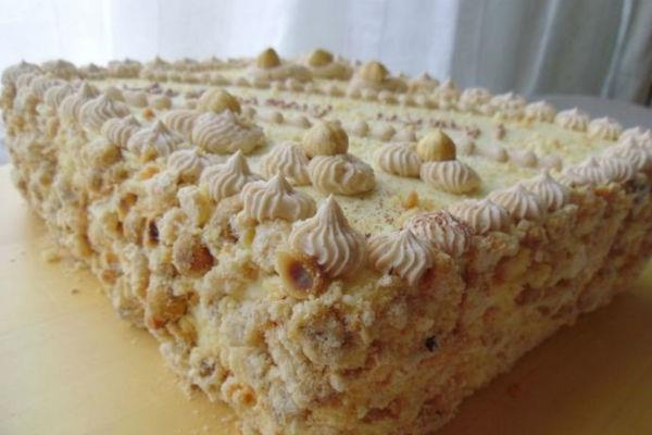Безумно вкусный киевский торт «Акилежна»