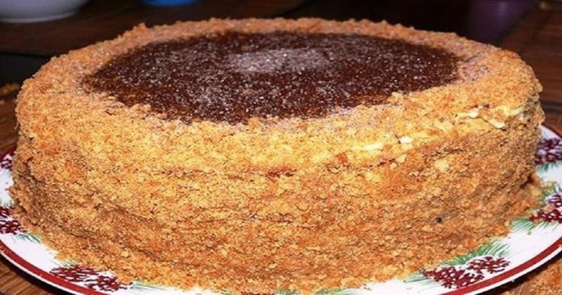 Торт «Рыжик»: Вкусный нежный и домашний