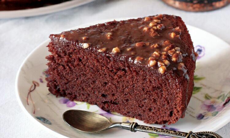 Нежный шоколадный бисквит на молоке и сливочном масле