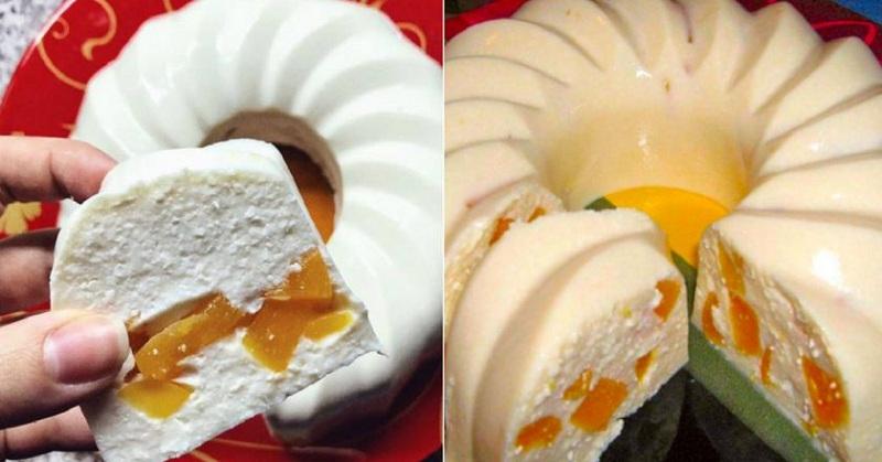 Бланманже, или Творожное желе с фруктами. Сказочный молочный десерт без выпечки!