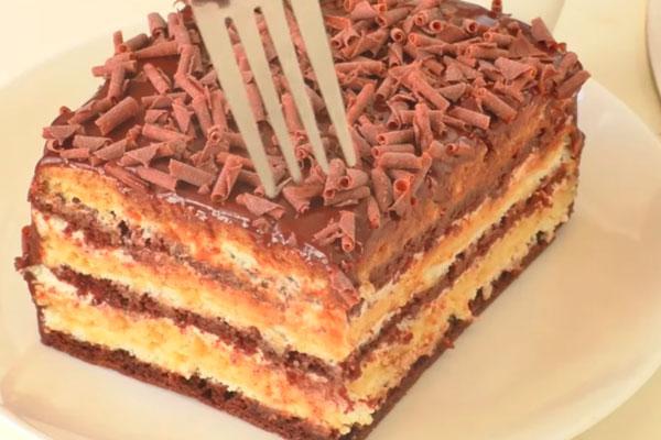 Всеми любимый домашний торт детства «Мишка на севере» (кто помнит, оценят рецепт)