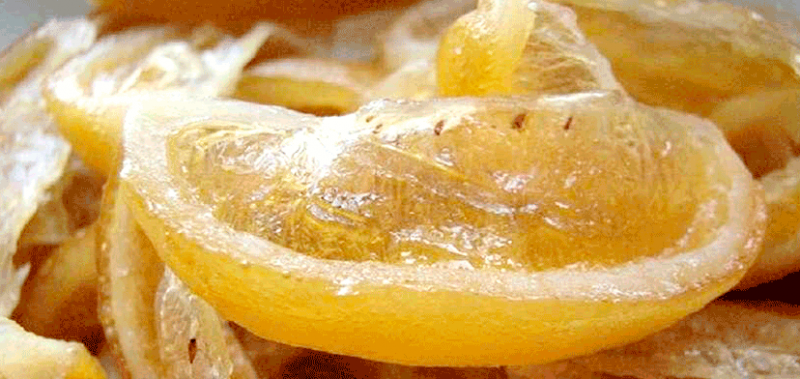 Вяленые лимоны