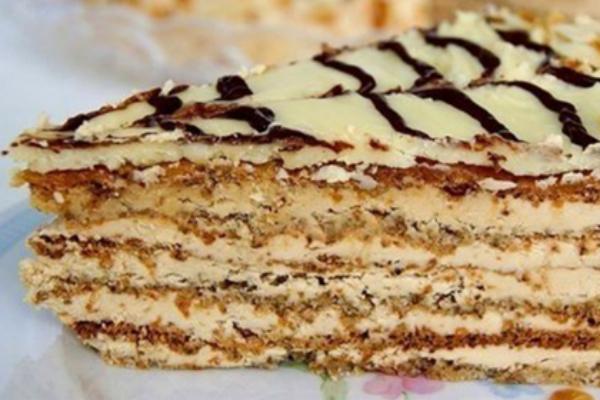 Незабываемый и королевский: нежнейший торт Эстерхази