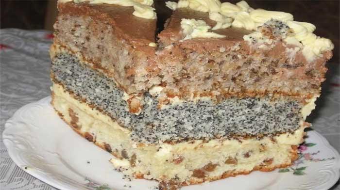 Очень простой и очень вкусный торт «Каприз»